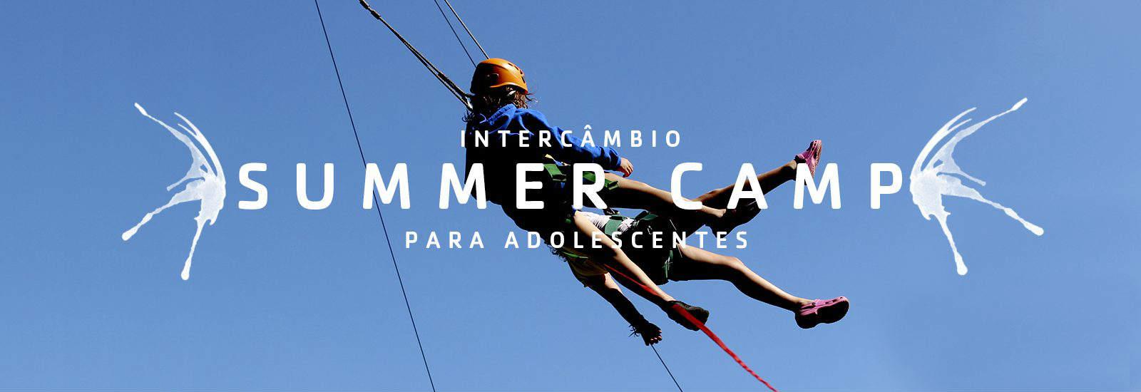 banner summer camp intercambio USA acampamento verao aventura jovens Belo horizonte Ed - Seguro Viagem